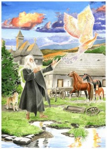 """Иллюстрация к книге """"Сказки и притчи для детей"""""""